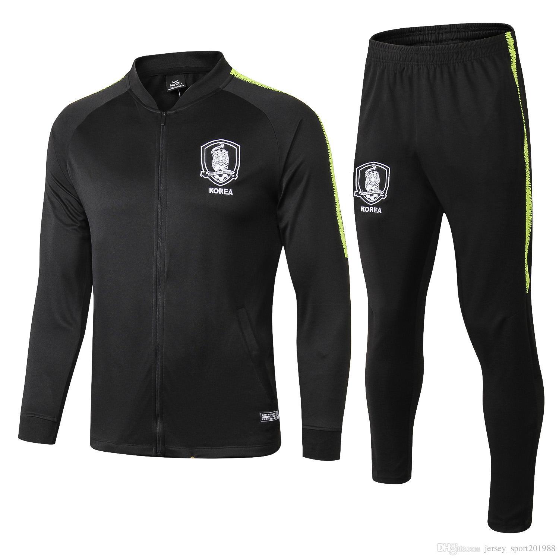 dffcd9b7f 2018 19 Korea Survetement Jacket Training Suit Soccer Jersey ...