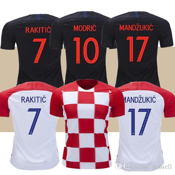 3dcc6b23d 2019 Thailand 2018 World Cup Designed For CroATia Home Soccer Jersey ...