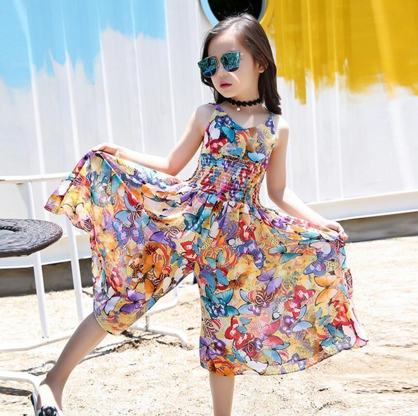 a4bbffe78a99 2019 2019 Bohemian Dress For Girls Summer Girls Beach Dress Teenage ...