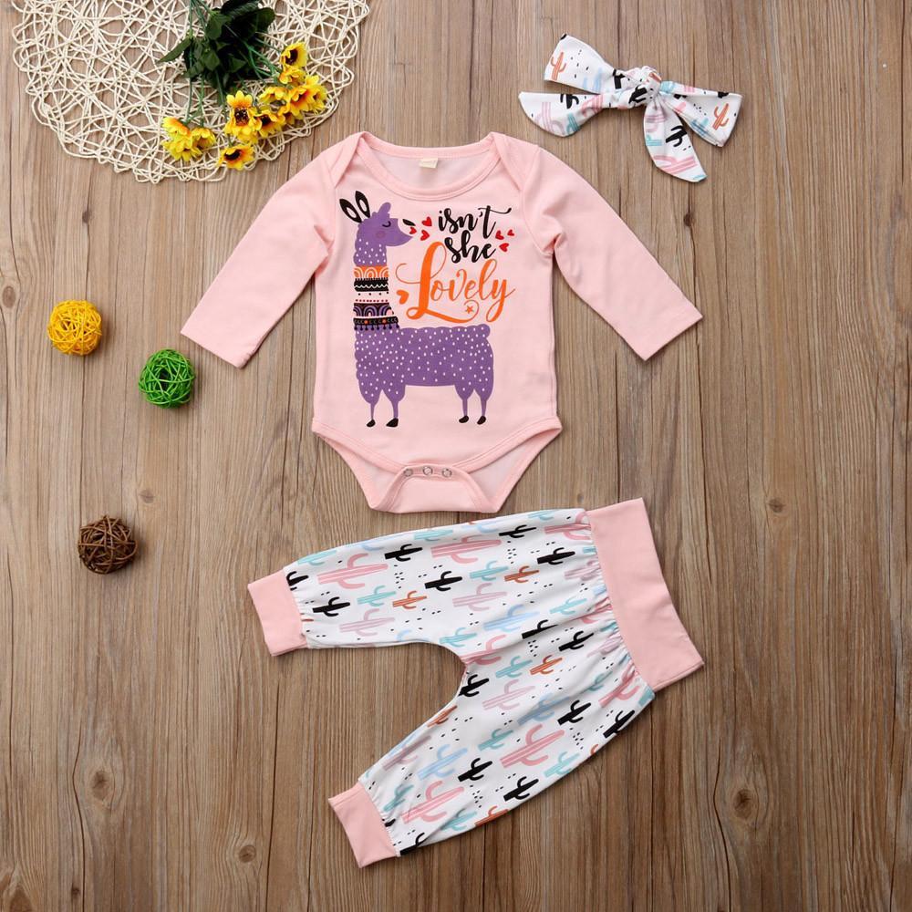 2fe4ba8798e6 2019 Good Quality Newborn Baby Clothes Infant Baby Girls Clothes Set ...