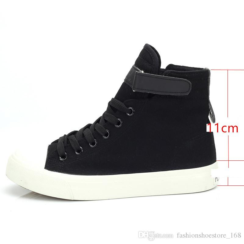 2019 New Spring Autumn Women High Top Canvas Platform Sneaker Girl s  Fashion Lace Up Casual Canvas Shoes Leisure Solid Female Sneakers Black And  White Shoes ... e07bb5bd424c