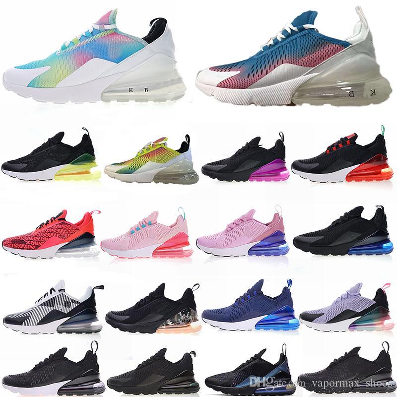 sports shoes 25bd7 5e1c3 Acheter 270 Designer Chaussures 27C Chaussures De Course Fluorescent Pour Hommes  Femmes Vert Jaune Blanc Volt Baskets Baskets De  107.62 Du Vapormax shoes  ...