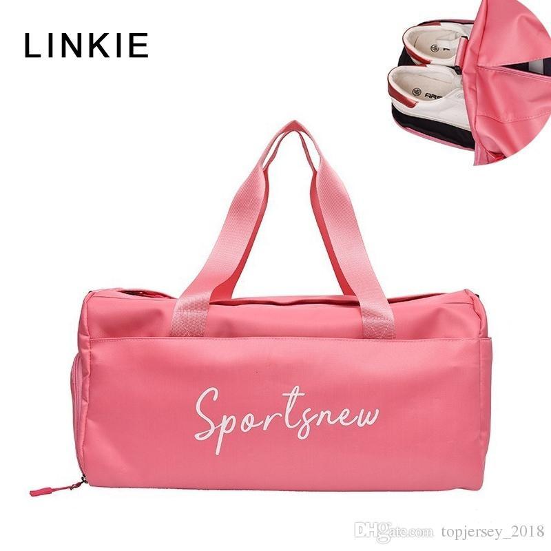 Compre Deporte Gym Bag Hombres Mujeres Fitness Bolso Yoga Nylon Bolsa De  Viaje Ultralight Duffle Shoes Small Sac De Sport   159396 A  41.78 Del ... df6ac5234a123