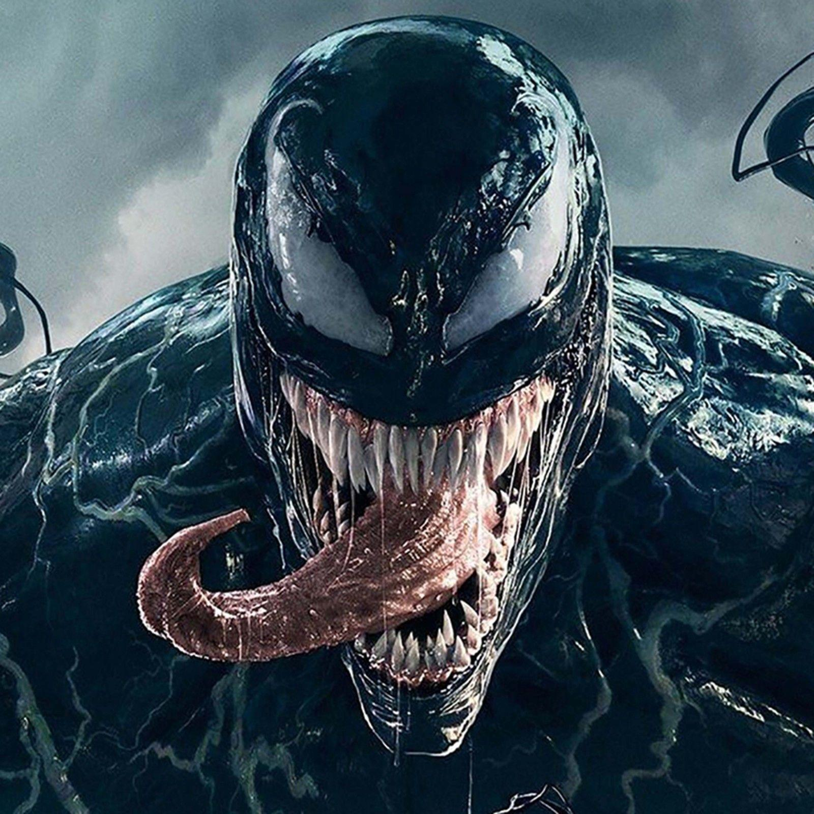 Venom Movie Decor Art Silk Print Poster 24x24inch Vinyl