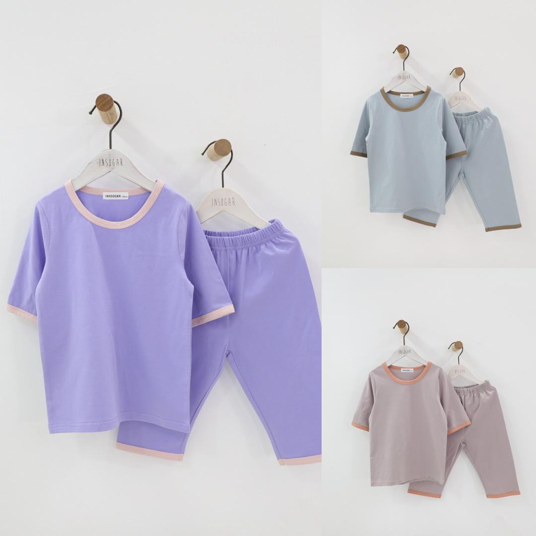 171793cd35e0e Acheter Enfants Garçons Fille Pyjama En Coton Ensemble Vêtements Pour  Enfants 12 M 18 M 24 M 2 3 4 5 6 7 8 9 10 11 12 13 14 15 Ans Été Mince  Vêtements De ...