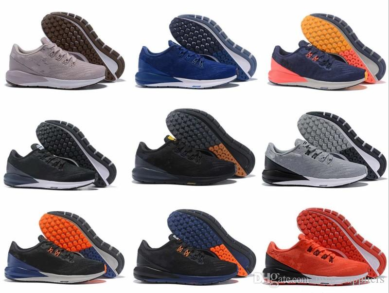 2018 Air ZOOM STRUCTURE 22 N Jogging Running Shoe Mens Mesh Upper  Breathable Women Blue Black Green Athletic Sneaker Sports Shoes Running  Shoes From ... b159da222