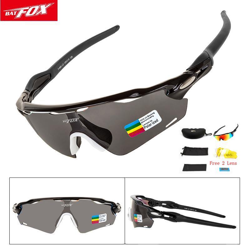 d6f16864e Compre Esportes Polarizados Homens Ciclismo Óculos De Sol Uv400 Proteção  Correndo Ciclismo De Golfe Óculos De Ciclismo 3 Lentes Intercambiáveis  oculos ...