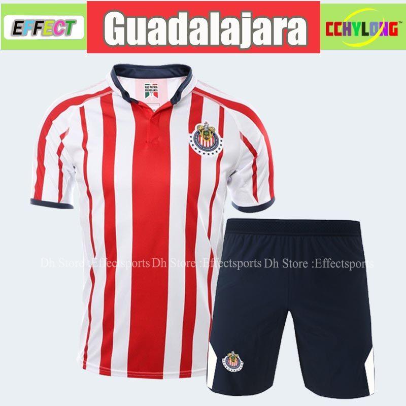 premium selection d83f3 dbe02 New Arrived Chivas de Guadalajara Kit 2018 2019 Soccer Jerseys LIGA MX Men  Sets 18/19 A.PULIDO Camiseta de Futbol Football Shirts