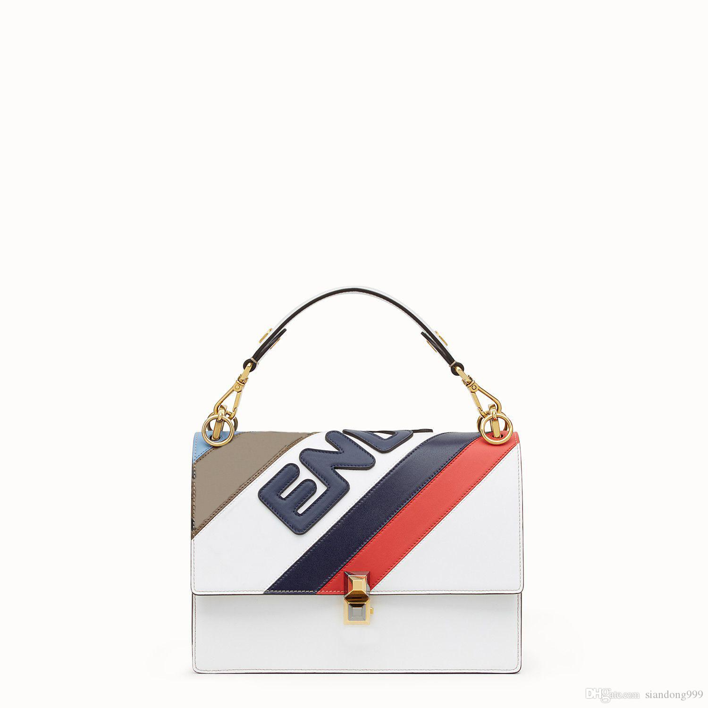 cf6f0ef0af74 Splice Leather Female Designer Handbag Famous Brands Luxury Shoulder Bag  For Women 2019 New European And American Style Ladies Crossbody Bag Mens  Messenger ...