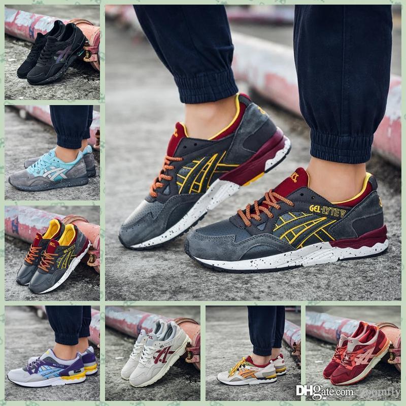 sale retailer d8e3b 63c47 AGLV1A Whosale 2016 Best Gel Lyte III 3V5s Men Women Casual Shoes High  Quality Cheap Training Fashion For Sale Online Sneakers 36-45