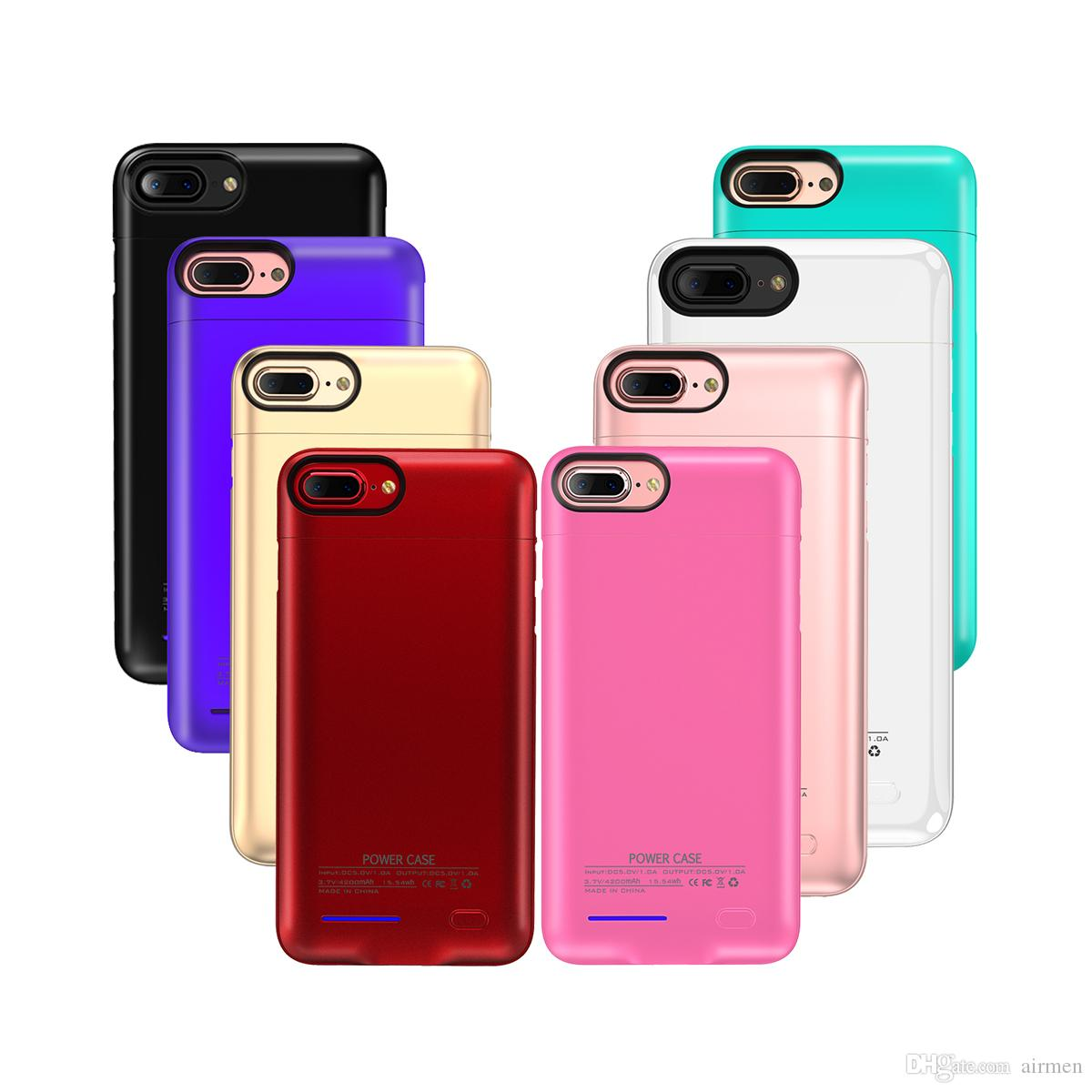 Original Battery Case For Iphone X 8 7 Plus 4 7/5 5 Universal Clip Charger  magnet Phone Holder Wireless Power Bank Cover