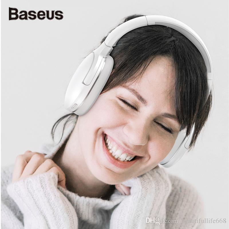 7fc4fcded7e Baseus D02 Bluetooth Headphone, Adjustable & Foldable 25 Hours Music Play Wireless  Earphone Portable Bluetooth Earphoe With Mic Sell Old Electronics Trade ...