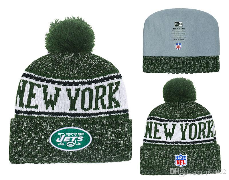 2018 Men S New York Jets New Green 2018 Sideline Cold Weather Official  Sport Knit Hat From Yaolipeng2 dc674efffba