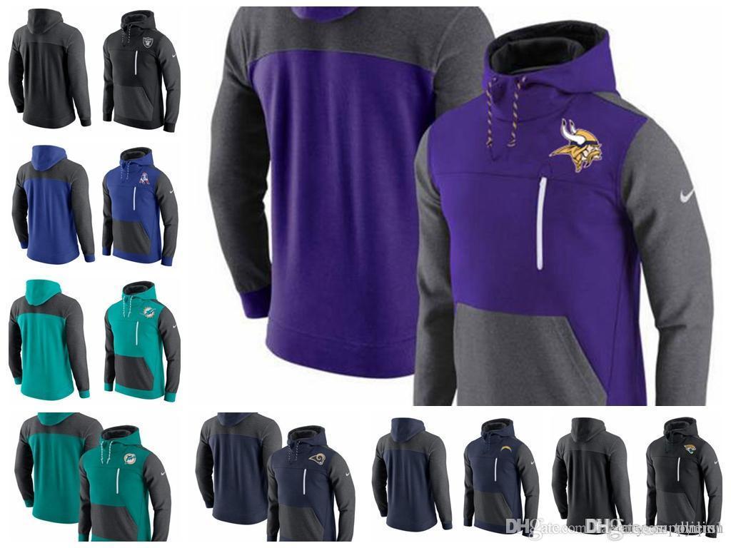 Compre Suéter Para Hombre Houston Texans Indianapolis Colts Jacksonville  Jaguars Cargadores Rams Miami Dolphins AV15 Histórico Sudadera Con Capucha  A  32.74 ... e4e56bd569f