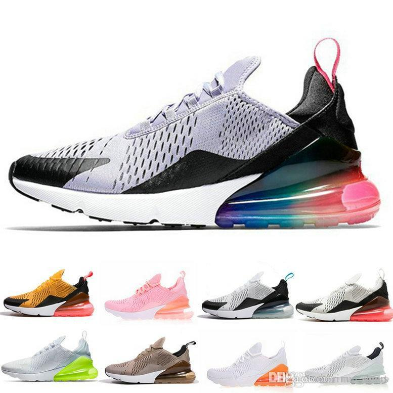 0b588eee9da731 Triple Black White 270 Running Shoes Navy Photo Blue Teal Mens Flair  Trainer Sports Medium Olive Tiger Hot Punch Women 270s Sneakers 36-46 270  Running Shoes ...