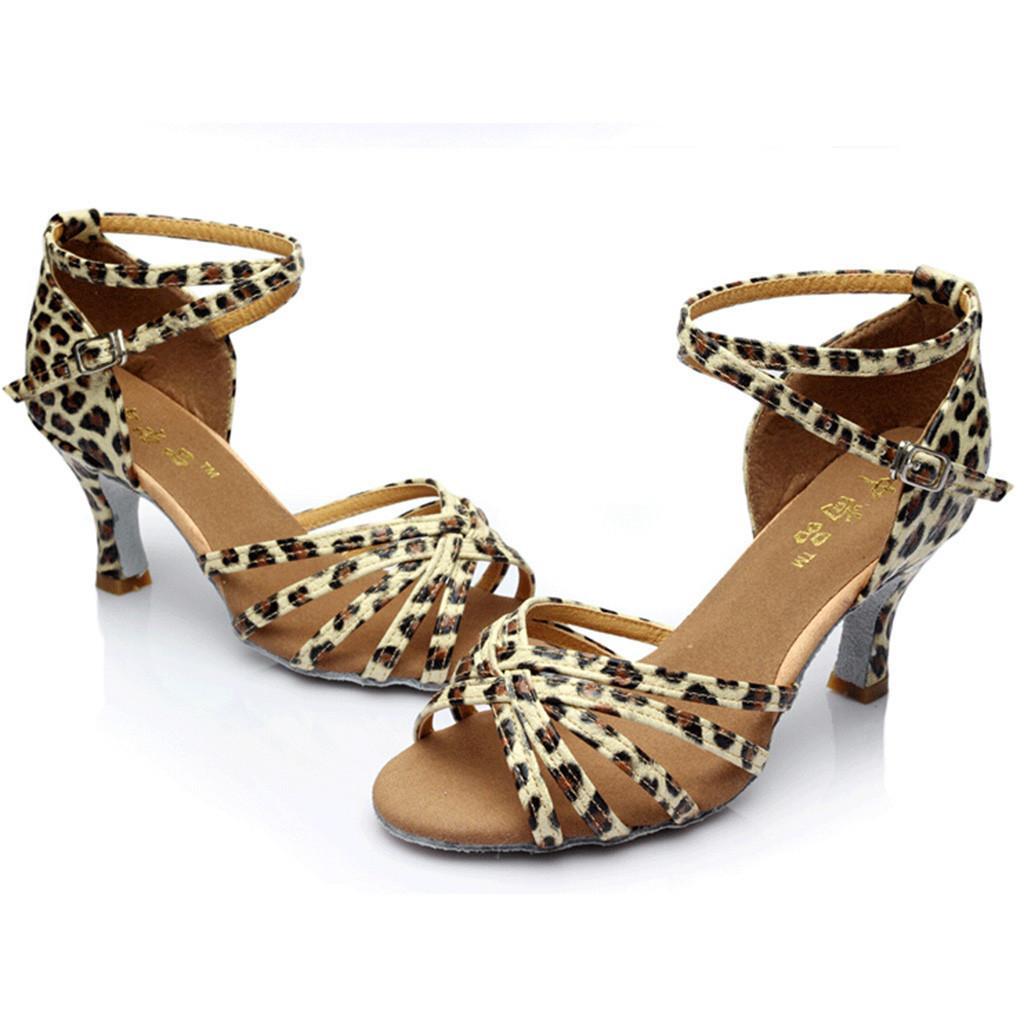 98c6a20cbf Compre Zapatos Zapatos De Tacón Latino Zapato De Tango Danza Mujeres ...