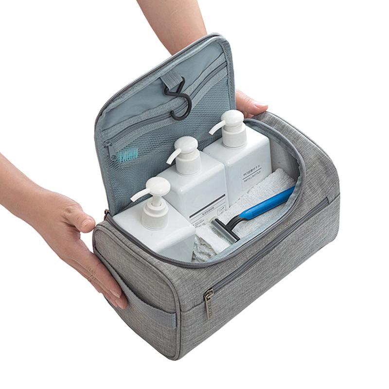 ef525ac5d4e7 Hook Up Toiletry Bag Women Cosmetic Bags Travel Organizer Portable Men  Makeup Case Beautician Lady Makeup Pouch Wash Pouch Bags Rolling Makeup  Case Travel ...