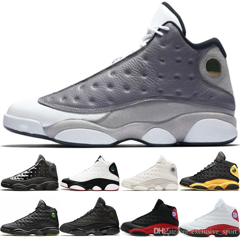 9e988abeb67dab Cap And Gown 13s Men Basketball Shoes 13 Atmosphere Grey He Got Game ...