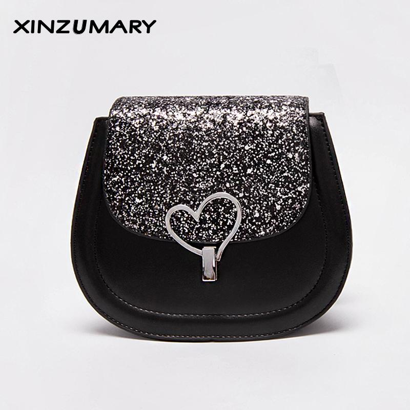 158c6e60c 2019 New Small Shoulder Bag For Women Hot Messengers Bags Ladies Simple Leather  Handbag Purse With Heart Female Crossbody Bags Clutch Bags Beach Bags From  ...