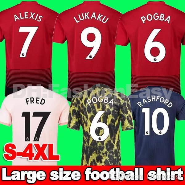 Compre Adidas   EA Sports Manchester United 2018 2019 EA Sports Camisa De  Futebol Dos Homens POGBA United 18 19 Homem Camisa De Futebol RASHFOR  LUKAKU ... db728a3e2edd4