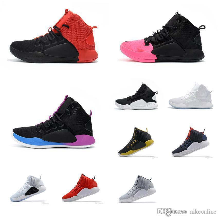 Cheap New Mens Hyperdunk X 2018 basketball shoes 10 Colorways Zoom Air Cushion sneakers Trainer shoe with original box for sale