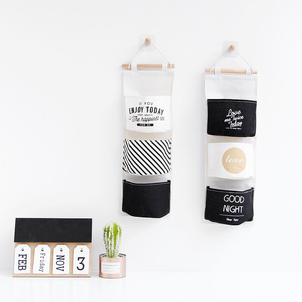 3 Design Cute Fresh Style Storage Bag Hanging Organizer Bags Bathroon  Kitchen Room Lundary Bags 3layers Pouches New Arrival