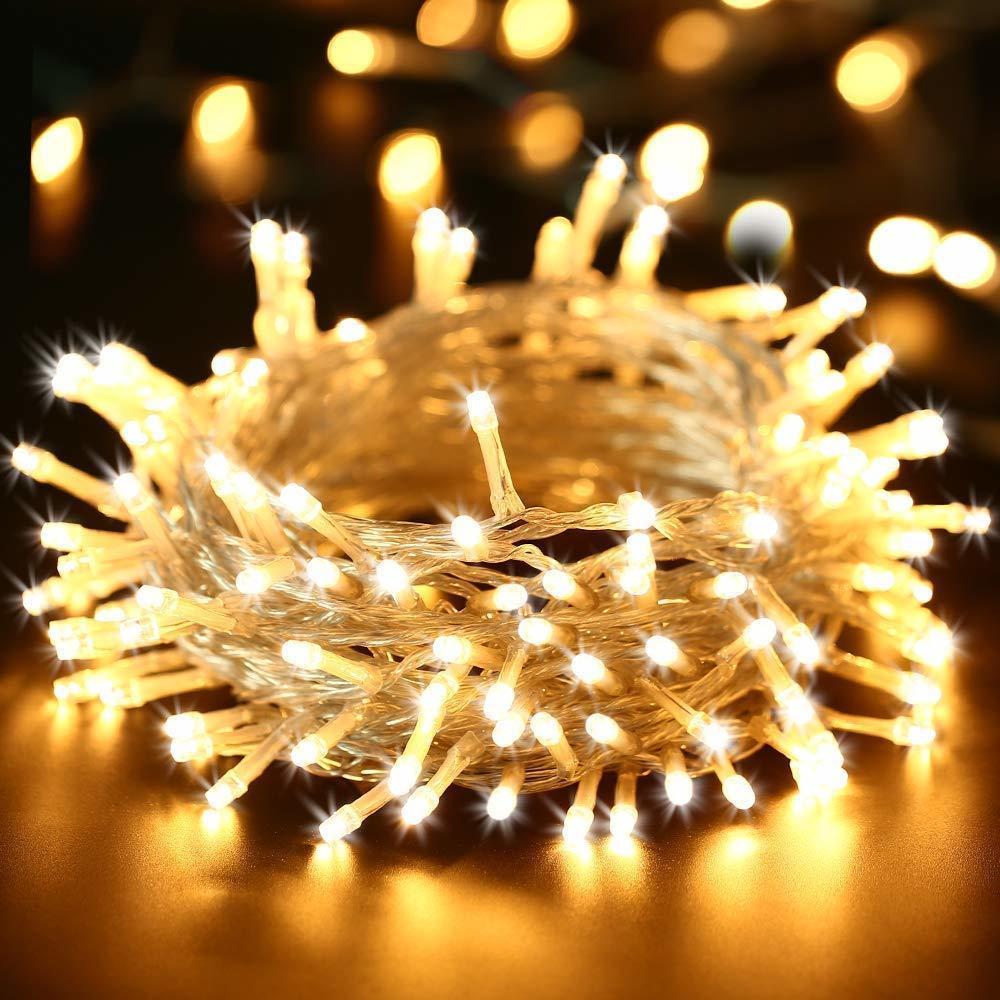 De Décoration Fête Mariage Allume La Menée Lumineuse Noël Led Lampe 100led Guirlande 10m 110v 220v Extérieure oedxBrC