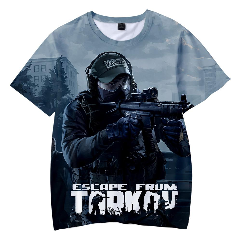 BTS 2019 Escape from Tarkov game 3D t-shirts Boy/girl Children s wear  Casual t shirts Short Sleeve hot sale Clothes