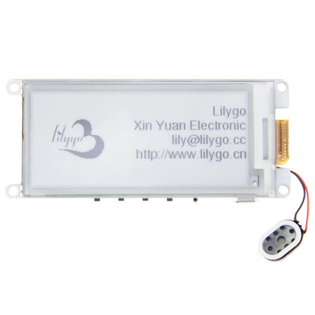 Ttgo T5 V2 2 Esp32 2 9 Inch Epaper Display Module E-Ink Speakers Wifi  Bluetooth Development Board