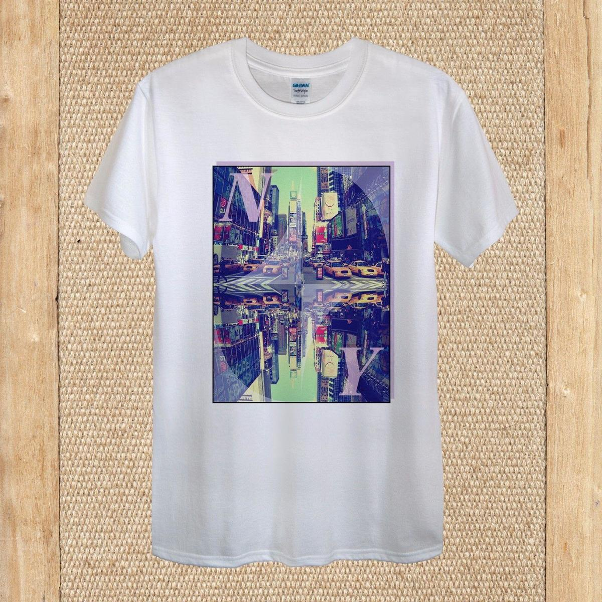 556028c3d97f New York Creative NY T Shirt Design City Travel High Quality Unisex Women  Fitted Best Designer T Shirts Funny Team Shirts From Jie41, $14.67|  DHgate.Com