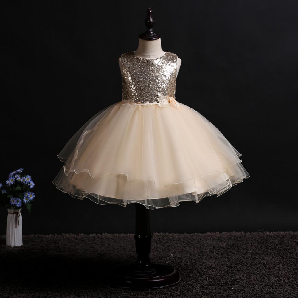 1e0977875308 Acquista Ragazza Modello Floreale Elegante Abito Da Principessa Bambino  Festa Di Compleanno Vestito Fiore Ragazza Abiti Da Sposa Costume Da  Teenager Da 4 A ...