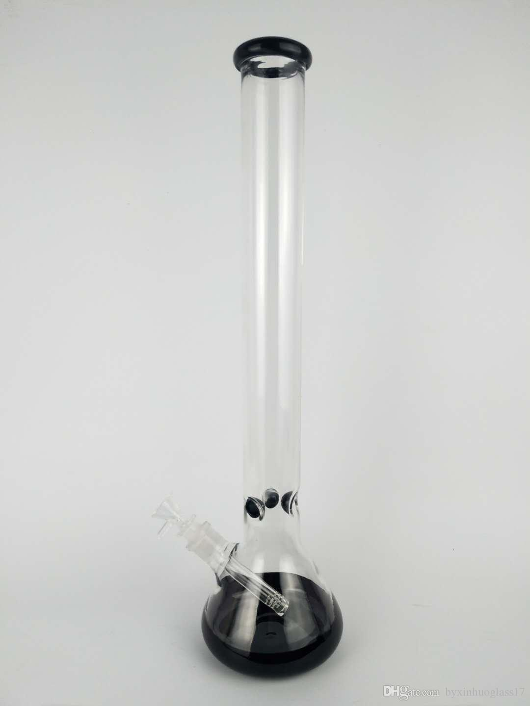 h:48cm Glass bongs for sale 2017 cheap glass bong with percolator diffuser arm tree perc beaker bong free shipping glass water bong