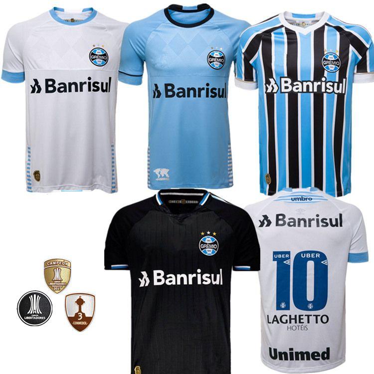 Best Quality 2018 Gremio Soccer Jersey 18 19 Gremio MILLER LUAN DOUGLAS  DIEGO HAILON Home Away Third Football Shirts Camisetas De Futbol UK 2019  From ... 2e34c56ac