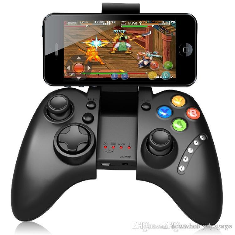 Wholesale Wholesales price IPEGA PG-9021 Classic Gamepad Joystick Handle Wireless Bluetooth Android iOS Game Consoles Tablet PC TV BOX