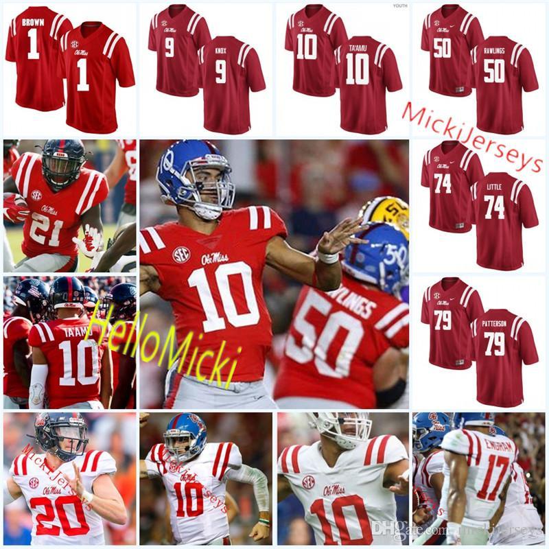 Custom ncaa ole miss rebels football jersey jorda ta amu jpg 800x800 Rawlings  football uniforms eb8f6b81b