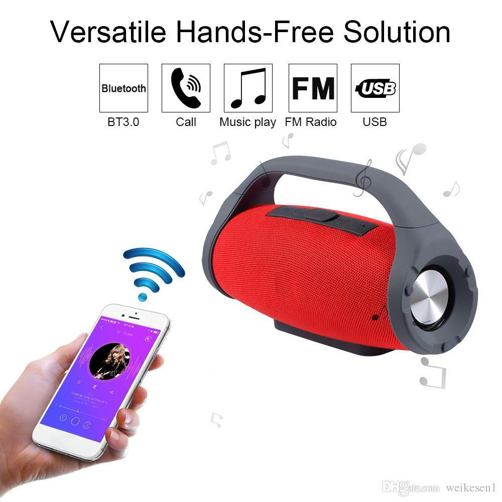 f15877a110b 2019 Mini Boombox Waterproof Portable Bluetooth Speaker 10W Subwoofer Sound  Box Support Hands Free TWS TF/USB Music Player For Smart Phone From  Weikesen1, ...