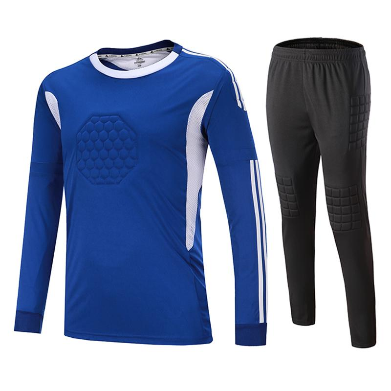 2019 New Kids Adult Soccer Goalkeeper Jersey Set Customized Football Jerseys  Short Sleeve T Shirts Kits Survetement Football Soccer Sets UK 2019 From ... 05d3b1f5c