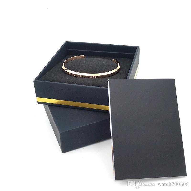 New DW Bracelets Cuff With Original Box Rose Gold Silver