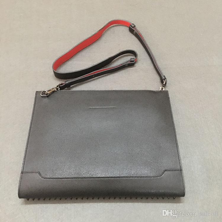 Ladies Fashion Bags Women Men Shoulder Bag Genuine Leather Rivets Spikes Bow Crossbody Bags Tote Bag Luxury Designer Handbags Black