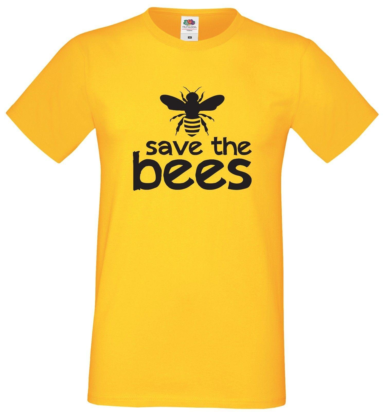 ab50738a27c SAVE THE BEES T SHIRT YELLOW COTTON NATURE MENS LADIES KIDS SIZES TO 3XL  Online Shopping Tee Shirts Crazy T Shirts For Men From Pickapair