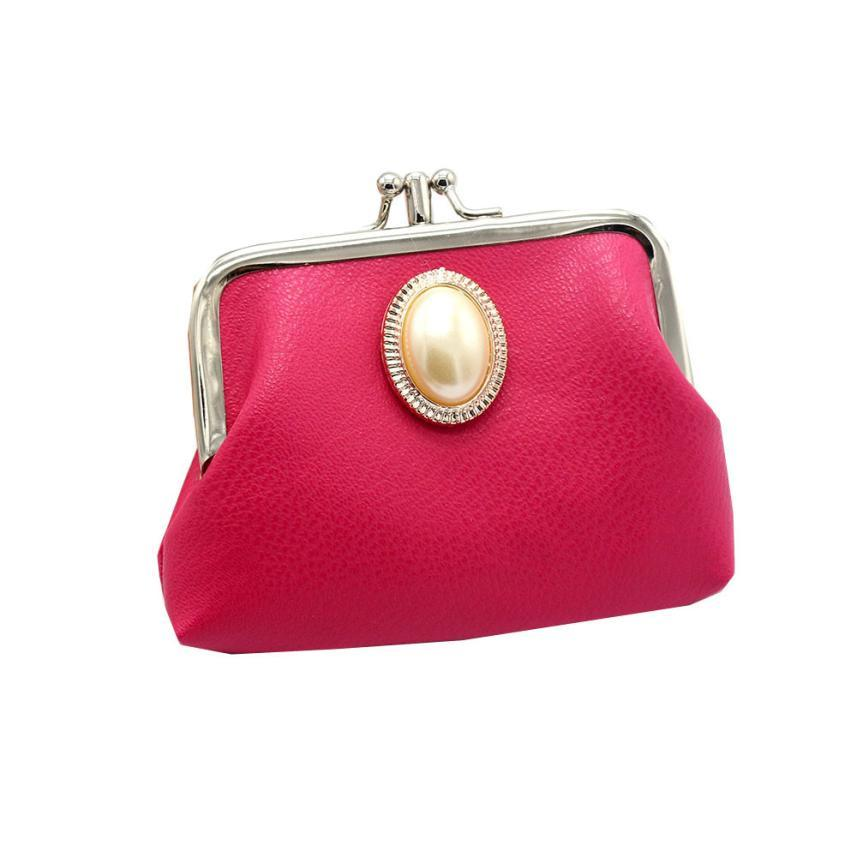 460b3c327d Ladies Small Coin Purse Women S Solid Leather Wallet Portfolio Female Pouch Wallet  Card Holder Mini Clutch Money Bag  g6 Black Handbags Luxury Bags From ...
