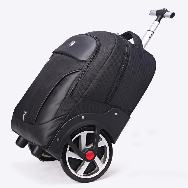 99382d27e New Design Trolley Rolling Luggage Big Wheel Trip Shoulder Bag Travel  Men/Women Large Capacity Suitcase Light Boarding Valise Handbags Bags From  Shoesbuddy, ...