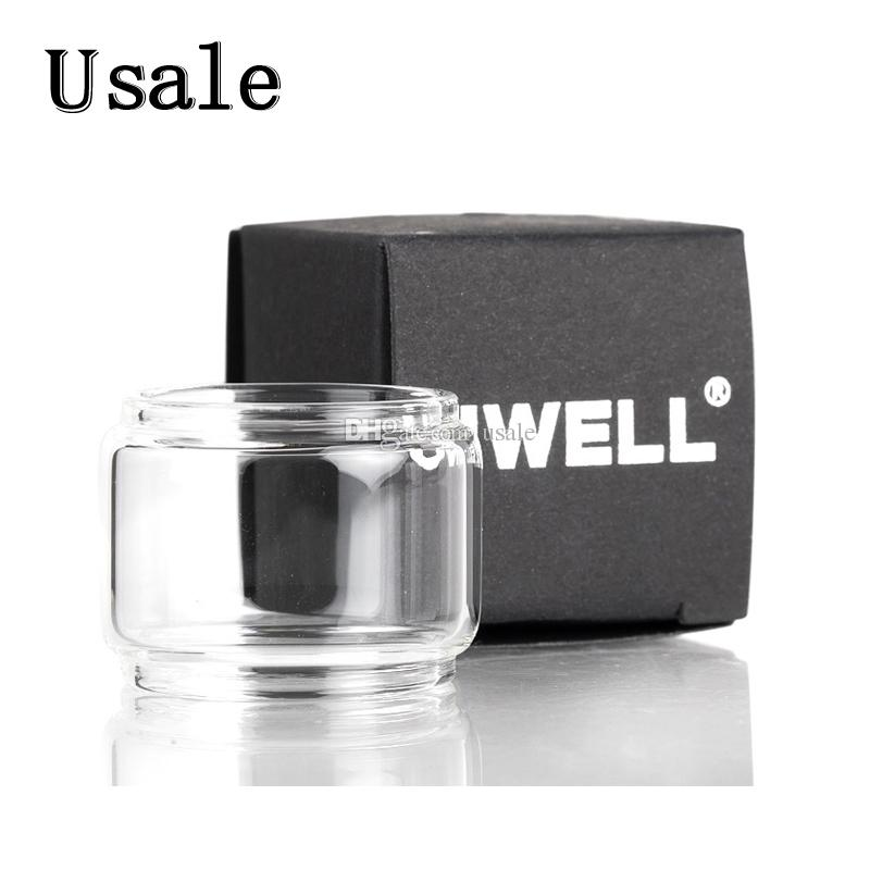 Uwell Glasröhre Crown IV 4 Crown 3 Whirlglasabdeckung Valyrian Tube Whirl 22 Glasröhre 100% Original