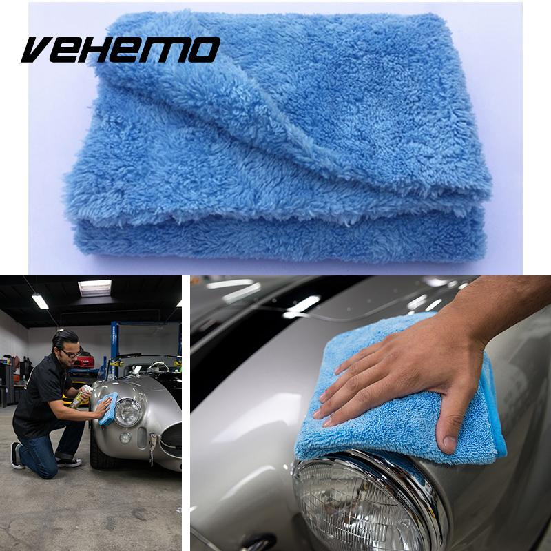 Vehemo Car Repair Tools Microfiber Edgeless Towel Rust Converter Removert  Auto Cleaning