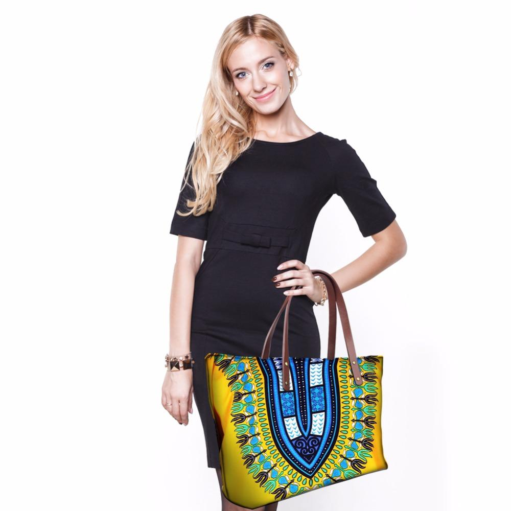 THIKIN Women Handbags Tribal Ethnic African Beach Bags for Women 2018 Tote Bag Large Crossbody Bags for Female Messenger Bags