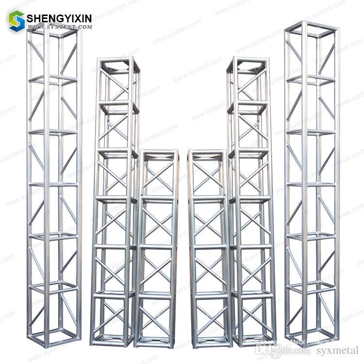 manufacturer supply spigot truss corner/aluminum truss Truss display  Aluminum spigot box light for concert event DJ stage
