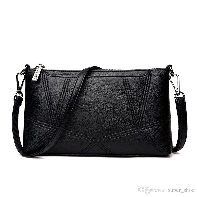 Genuine Cowhide Leather Women Messenger Bags Crossbody Bag Handbag Female  Fashion Shoulder Bags For Women Clutch Small Handbags  237582 Evening Bags  Gold ... ce724e7cd1cc4