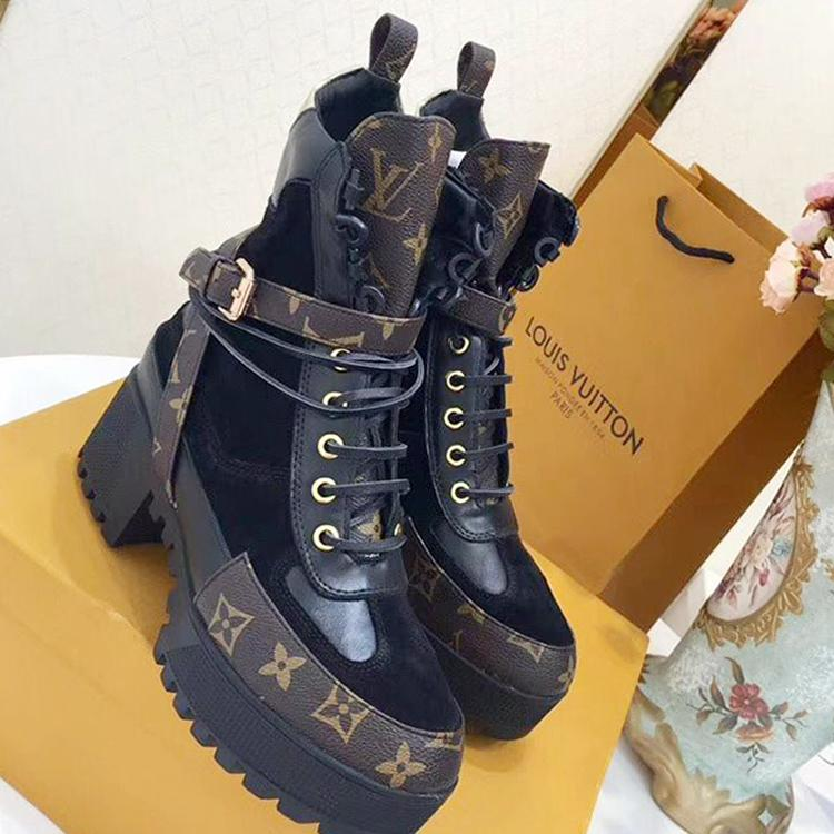df5f69cf9ad Laureate Platform Desert Boot Women Shoes Comfortable Luxurious Lady  Booties Fashion Ankle Boots Womens Fashion Bottes Femmes 2019 New Cute Shoes  Boots From ...