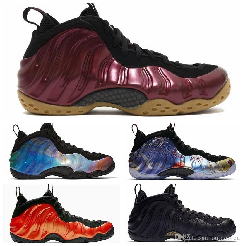 new product a78dc cf1f2 Hot New Alternate Galaxy 1.0 2.0 Olympic Penny Hardaway Habanero Red  Colorful Mens Basketball Shoes foams one men sports sneakers designer