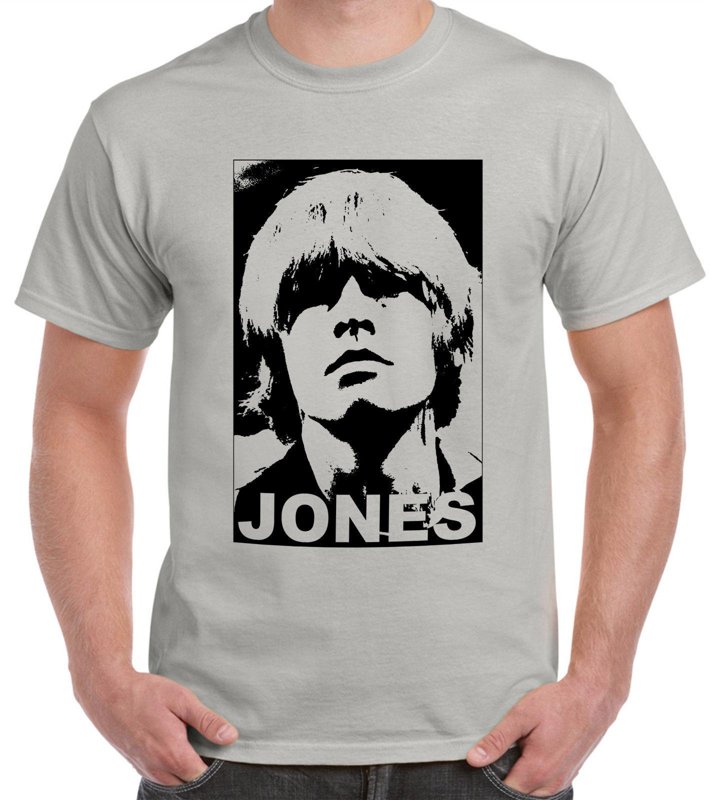 6053b1988c8a1 Tribute To Brian Jones Stone-Grey T-Shirt Jagger Funny free shipping Unisex  Casual Tshirt top